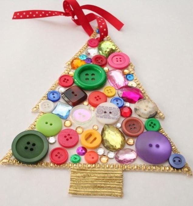 Сделать игрушку на елку своими руками для