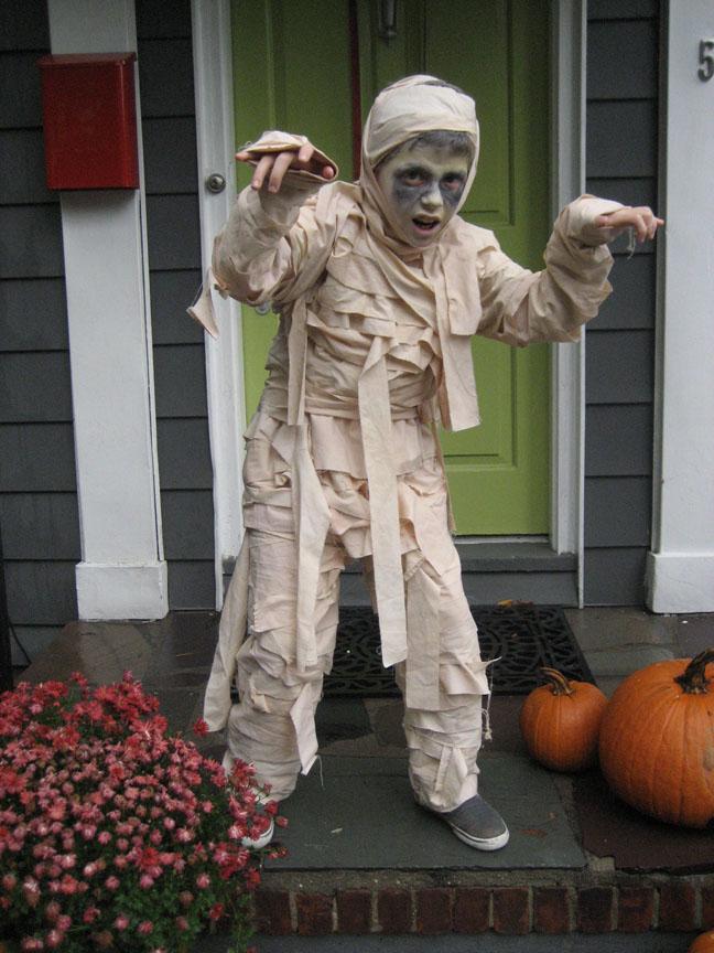 Мумия своими руками костюм