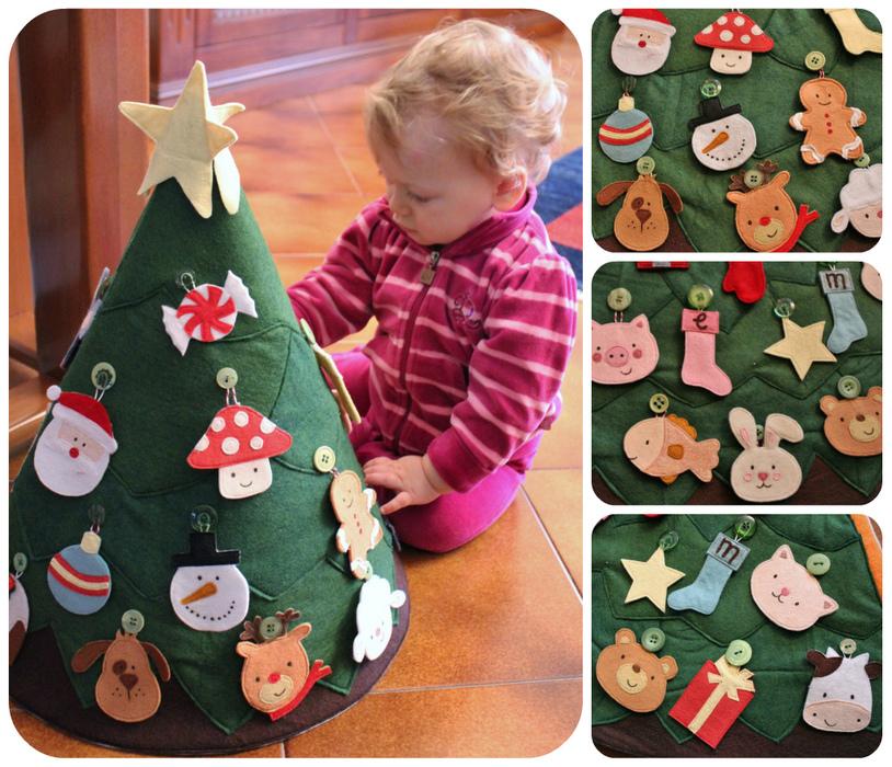 Мягкая игрушка елка своими руками