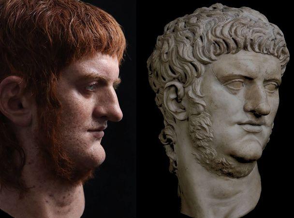 новая версия внешности императора Нерона