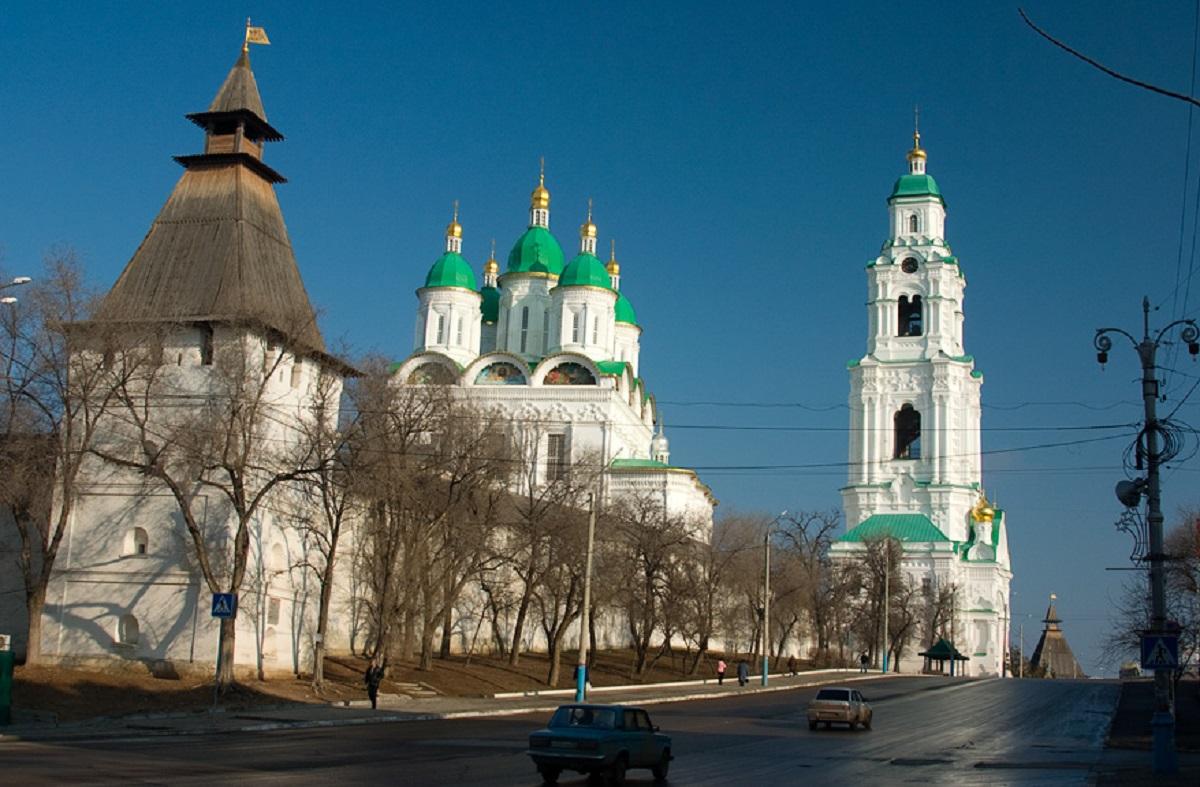 Фотографии астраханского кремля