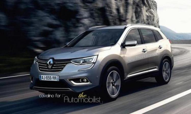 Кроссовер Renault Maxthon замечен на испытаниях в Швеции