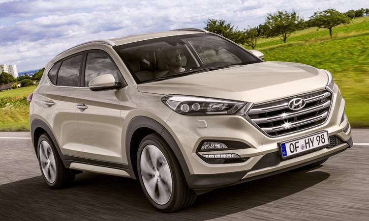 Hyundai Tucson стали известны комплектации автомобиля для российского рынка
