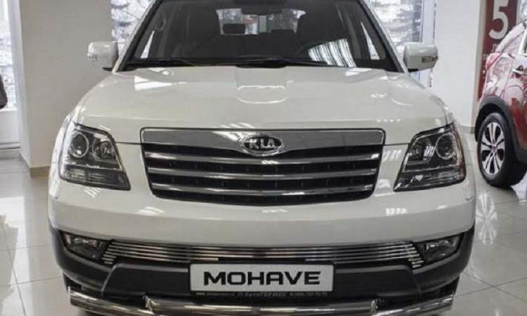 Kia официально представила обновленный внедорожник Mohave