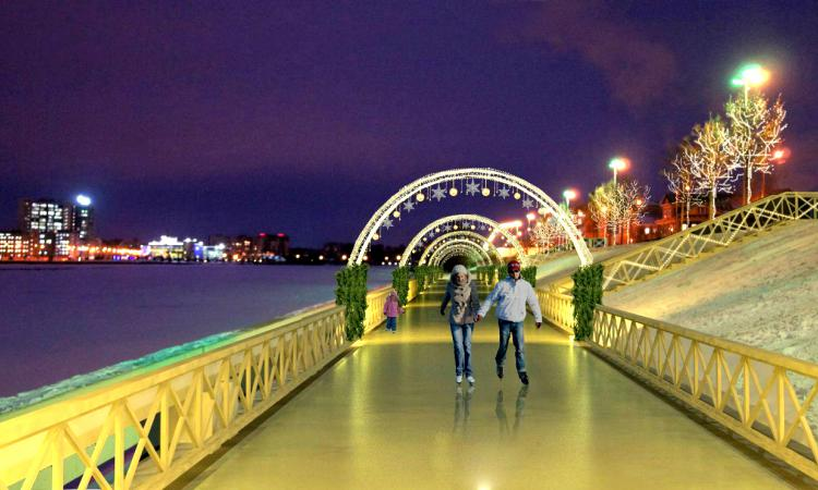 В Казани на кремлевской набережной откроют шуточный ЗАГС в сказочном городке Бу