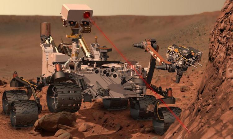 Марсоход curiosity нашел новые