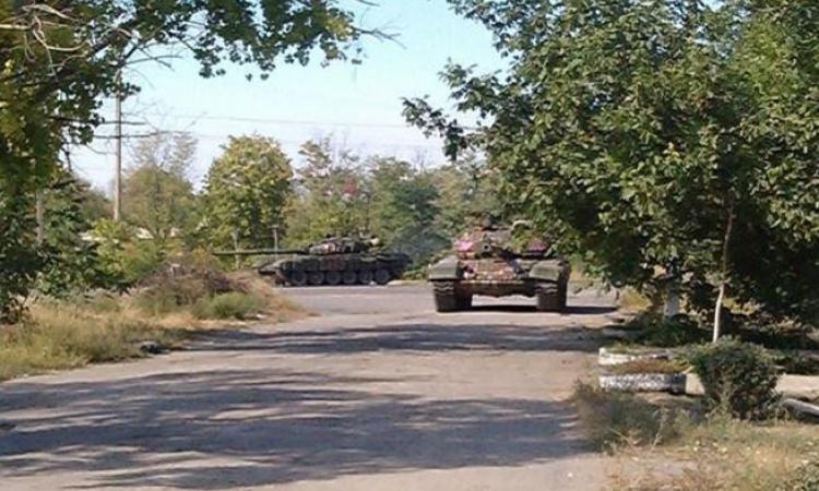 Новороссия украина ополчение сводка
