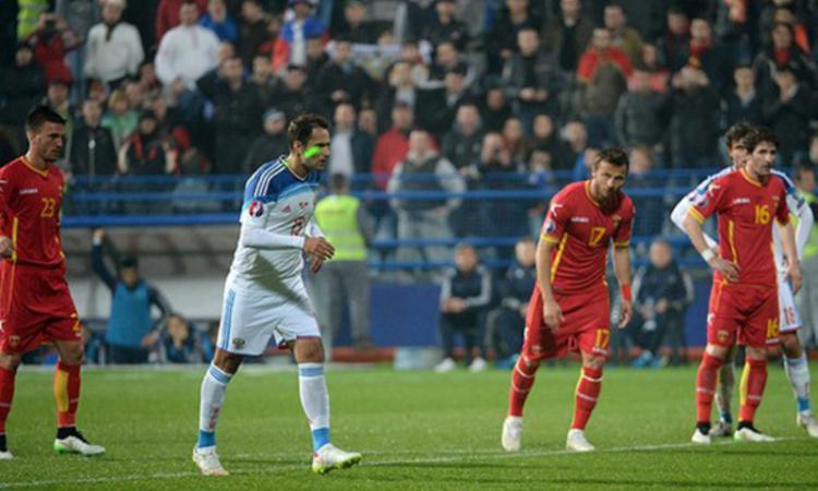 На матче черногория россия широкова