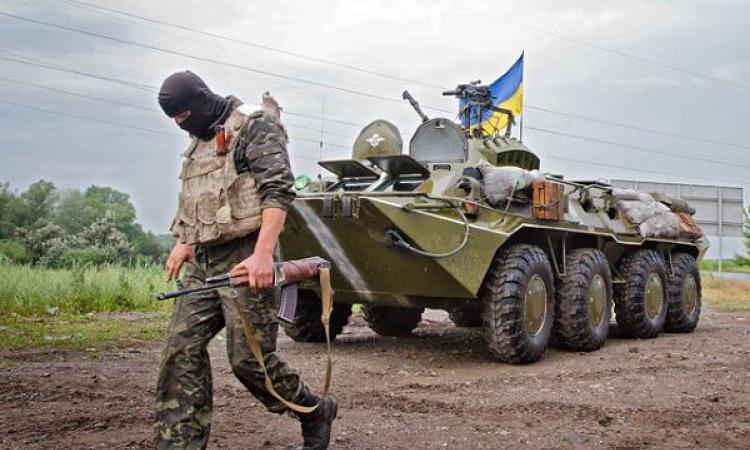 Армия киевского режима в летнюю кампанию 2015 года