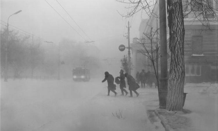 Снег в Ростове январь