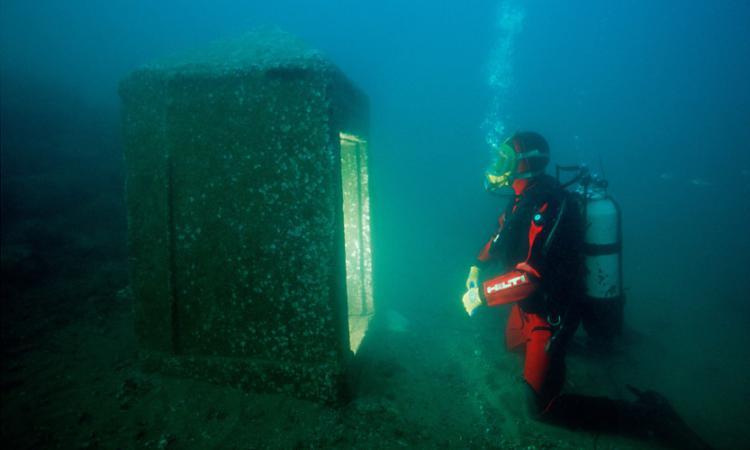 Затонувший город Гераклион найден у берегов Египта