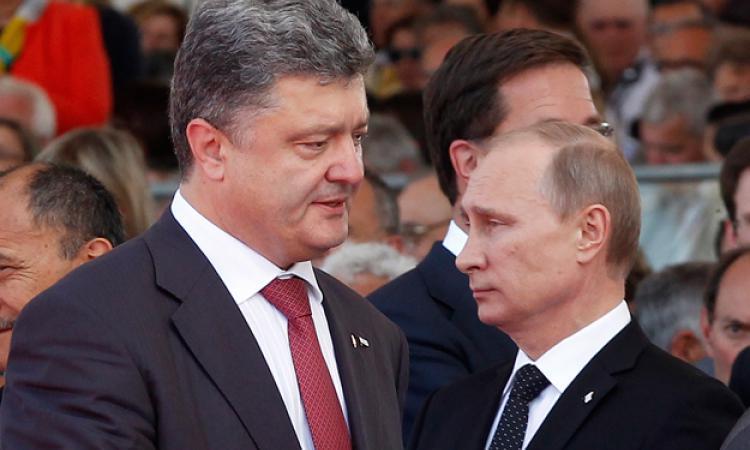 Путин, Президент России Владимир Путин, Россия, Порошенко, Украина