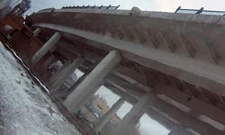 Открытие моста в створе