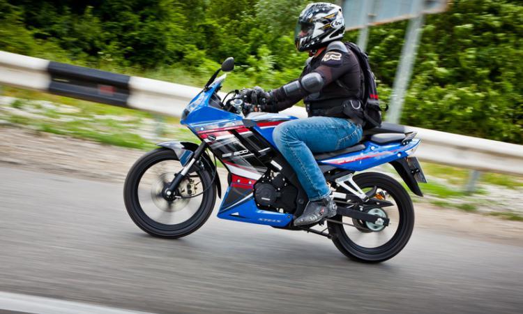 ВРоссии вдва раза вырос объем рынка мотоциклов