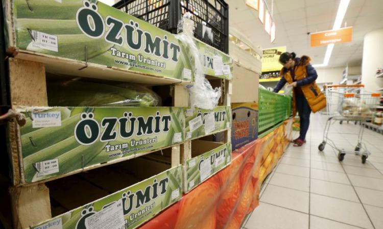 Россельхознадзор планирует расширить список нелегальной продукции изТурции