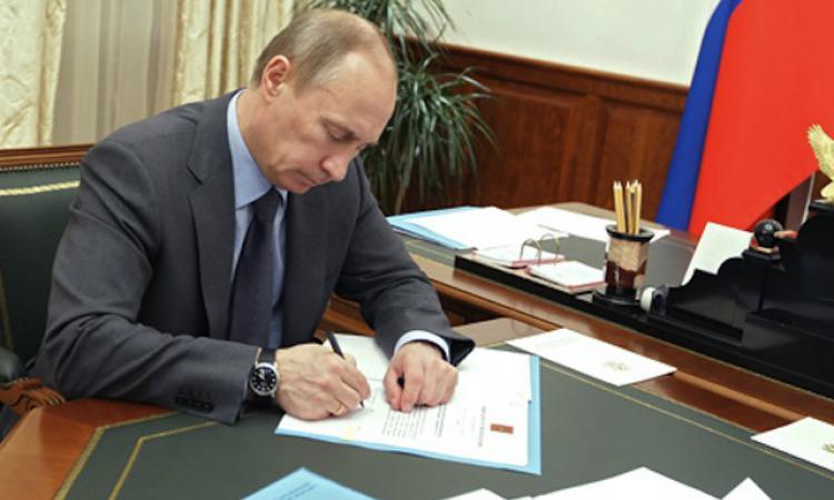 Владимир Путин сдержал слово