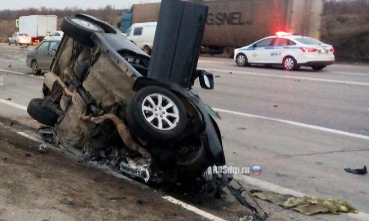 ДТП авария 934 км М4 Дон Каменск Ростовская область 27.11.2015