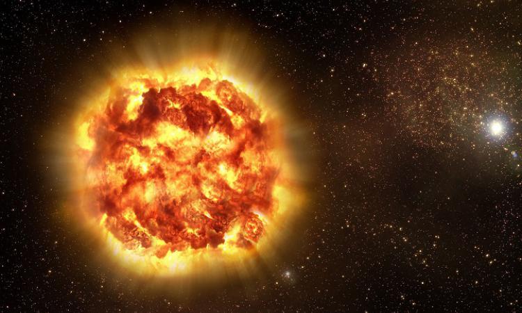 Взрыв звезды впервые удалось зафиксировать NASA