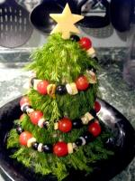 Рецепты новогодних салатов в виде елки