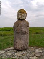 В Краснодаре нашли скифскую каменную бабу