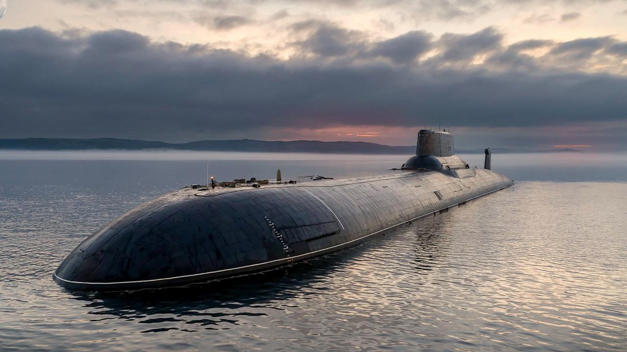 Российская подводная лодка