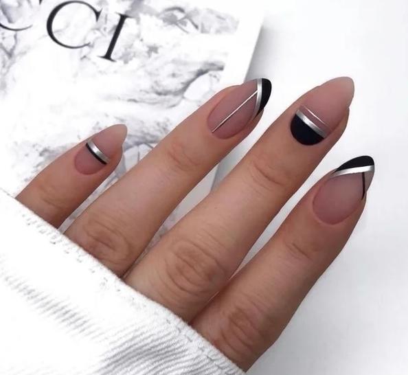 359eb23ea56 Интересные идеи стильного маникюра 2019  красивые ногти