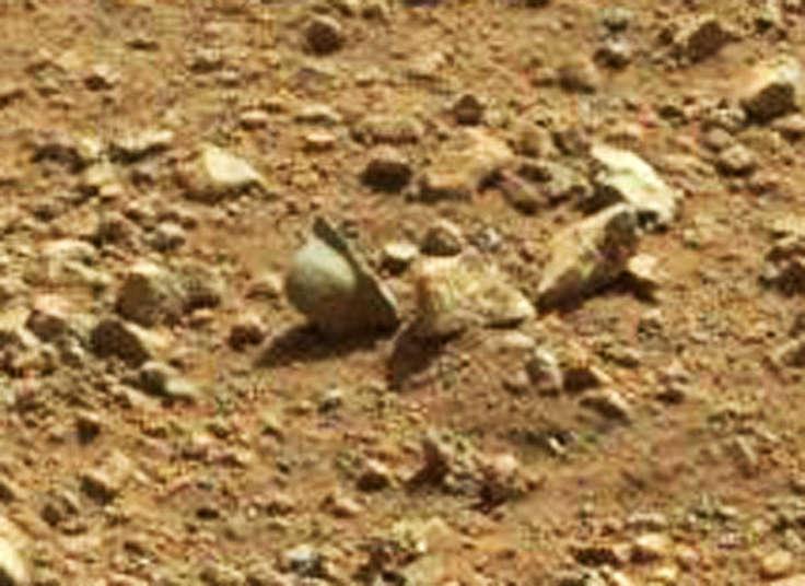 Каска на Марсе