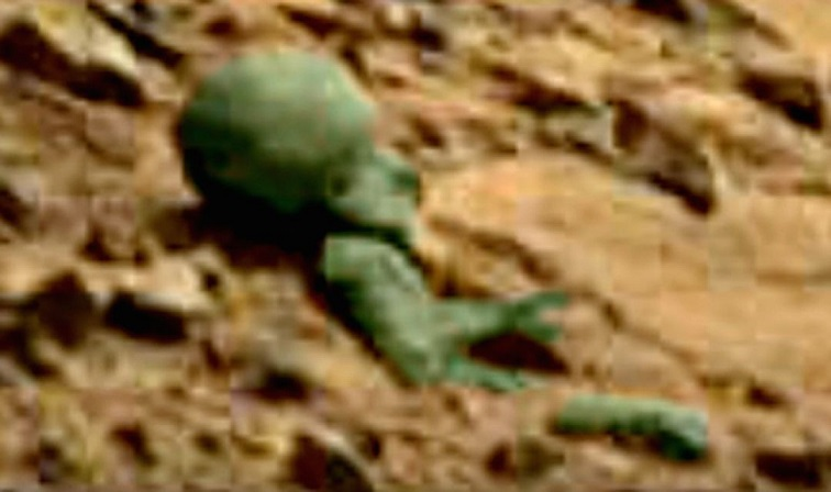 Останки марсианина