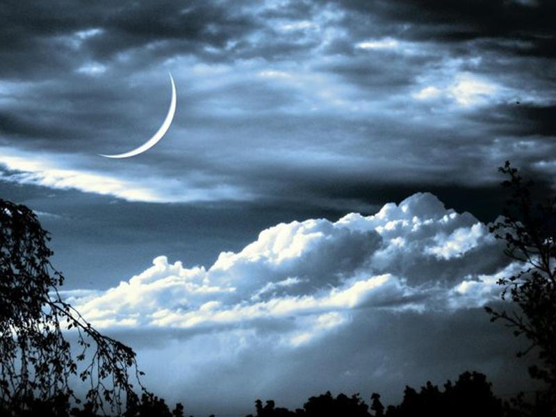 Луна новолуние красивые картинки