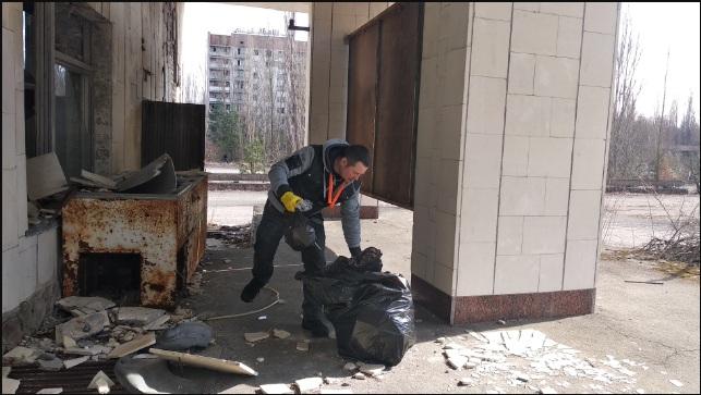 Что нового в Чернобыле - генеральная уборка