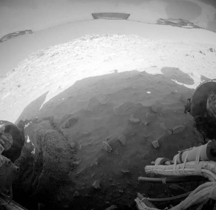 сенсационный снимок сделан марсоходом Spirit