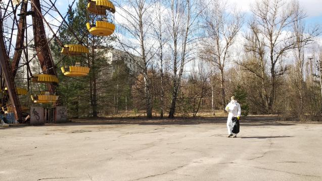 Субботник в Чернобыле
