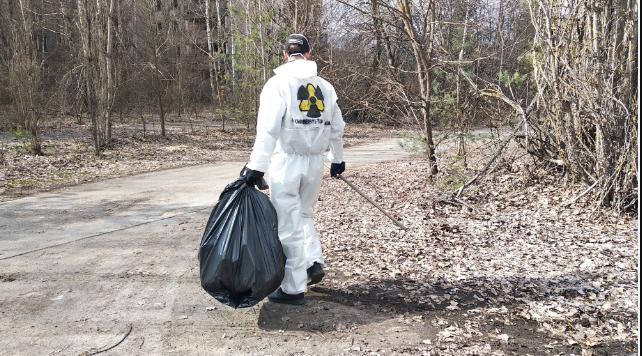 Чернобыль: там устроили субботник