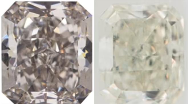 Геммологи из США обнаружили криогенный алмаз-хамелеон, меняющий цвет