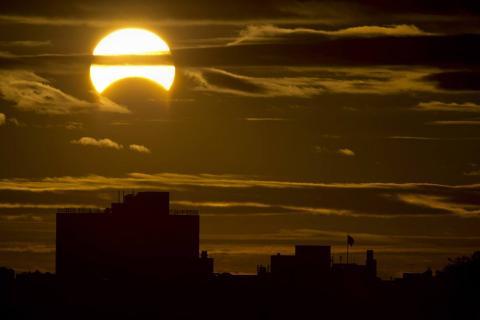 Солнечное затмение 13 июля 2018: точное время