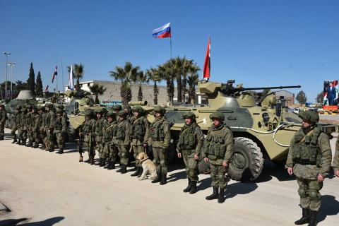 Кремль прокомментировал информацию о возможном ударе по российским силам в САР