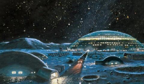На Луне обнаружили инопланетные структуры и огромный купол