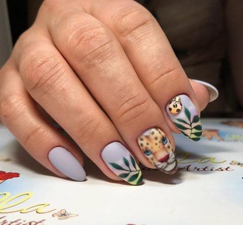 Красивые ногти гель-лаком: модный маникюр на август-25 ...