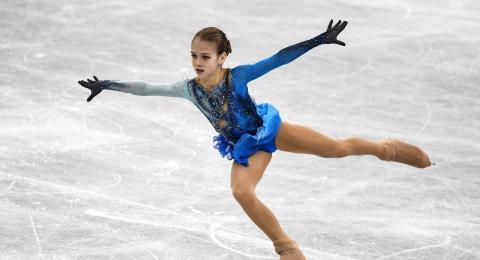 Российская фигуристка вошла в Книгу рекордов Гиннесса с двумя четверными