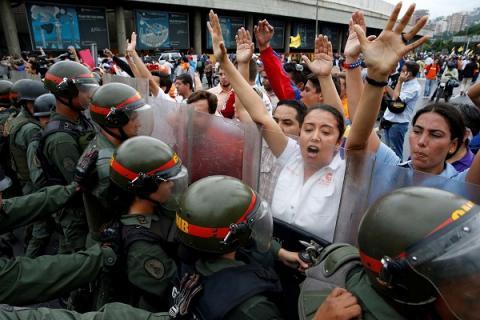 Госпереворот в Венесуэле, последние новости