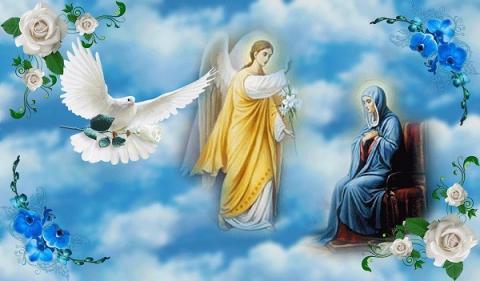 Благовещение Пресвятой Богородицы 7 апреля - поздравления