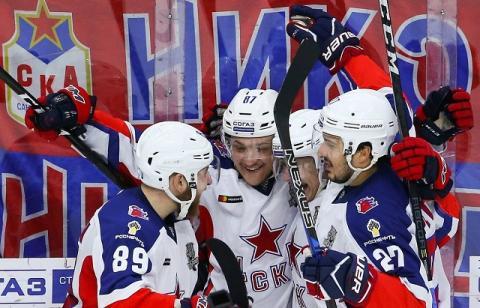 ЦСКА победил «Авангард» и впервые в истории выиграл Кубок Гагарина