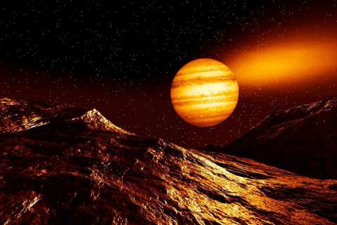 Новый вихрь на Юпитере