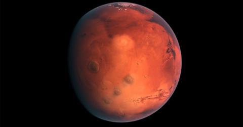 Ученый нашел на Марсе треугольник и купол неизвестного происхождения