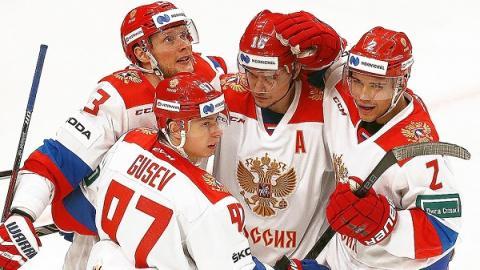 ЧМ по хоккею, Россия - Чехия 13 мая, счет