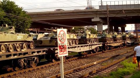 На военный эшелон в Забайкалье совершено нападение