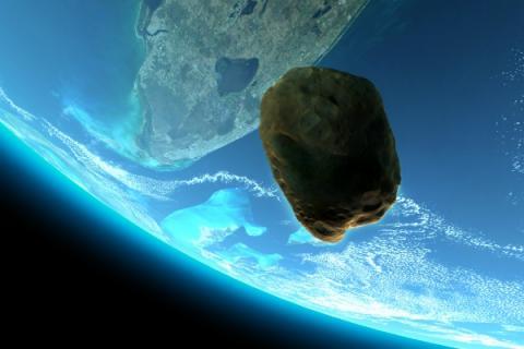 Космическое рандеву: огромный астероид посетит Землю в декабре