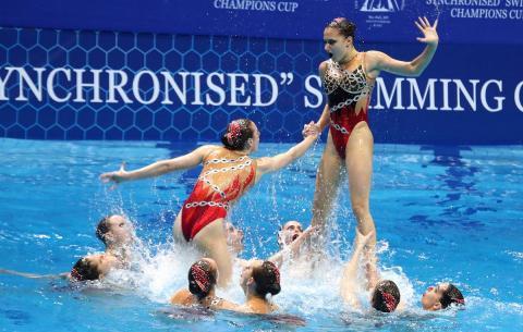 синхронистки, плавание, сборная