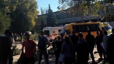 Взрыв в колледже в Керчи - погибли десять человек