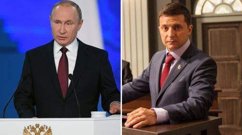 Дату и место возможных переговоров Путина и Зеленского назвали СМИ